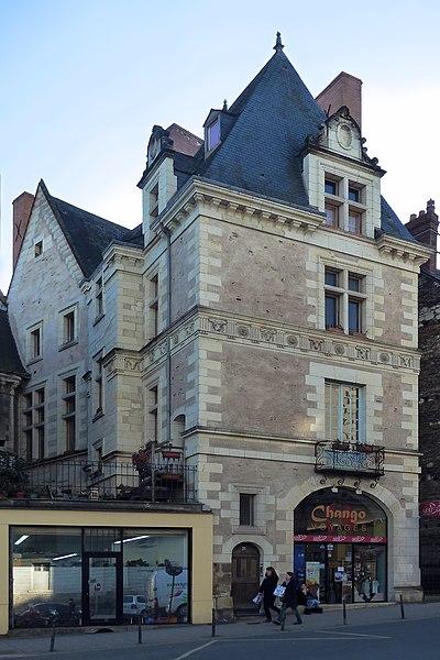 Photo du Monument Historique Ancien hôtel de Thévalle situé à Angers