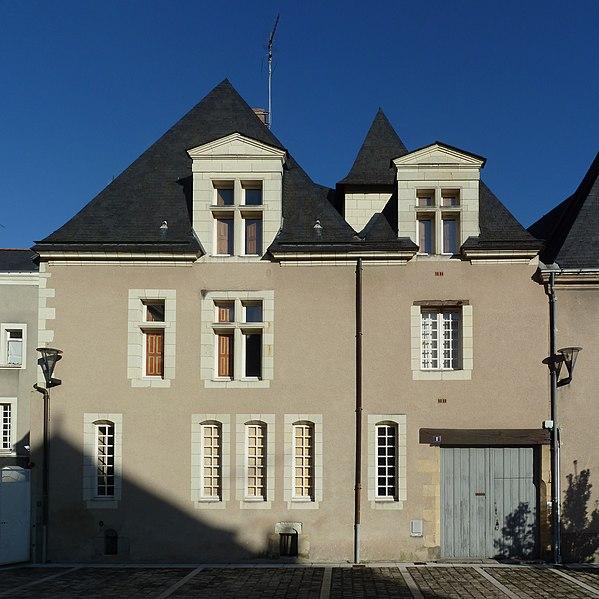 Photo du Monument Historique Immeuble situé à Angers
