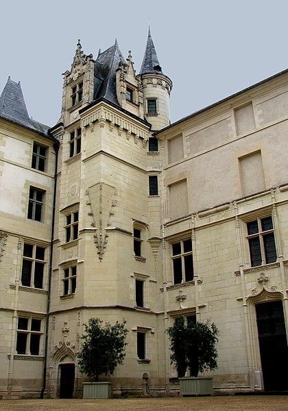 Photo du Monument Historique Logis Barrault situé à Angers