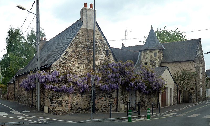 Photo du Monument Historique Logis de Haute Folie situé à Angers