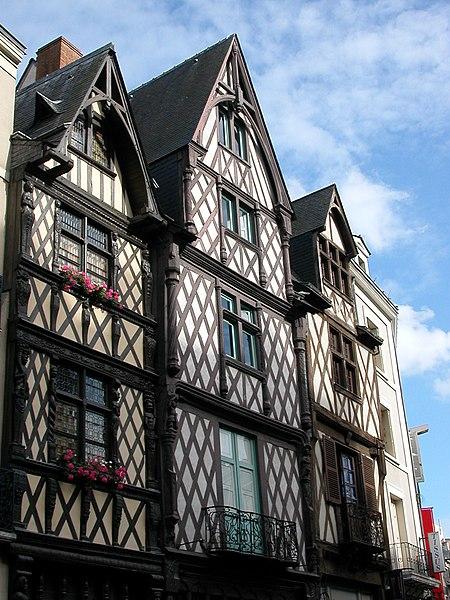 Photo du Monument Historique Maison situé à Angers