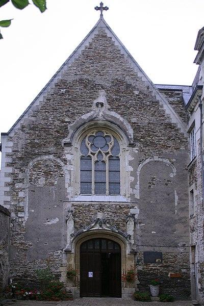 Photo du Monument Historique Monastère des Bénédictines du Calvaire situé à Angers
