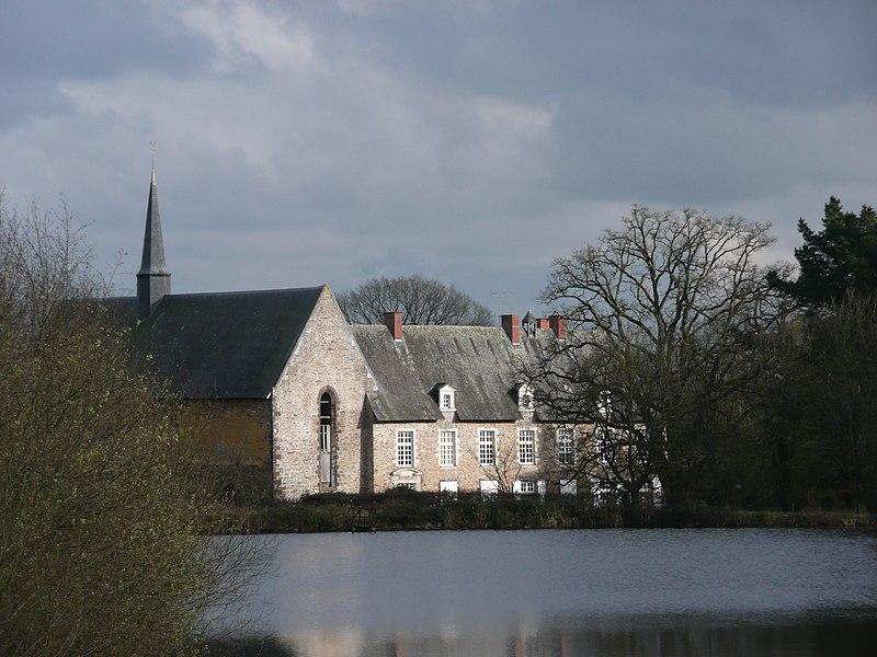 Photo du Monument Historique Ancien prieuré de la Primaudière (également sur commune de Juigné-des-Moutiers (44) ) situé à Armaillé
