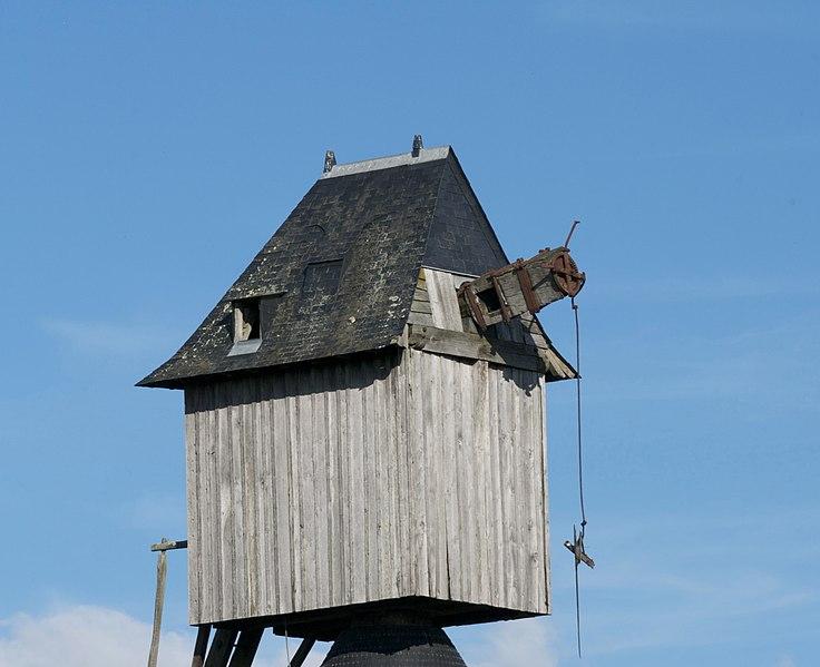 Photo du Monument Historique Moulin à vent de la Garde situé à Avrillé
