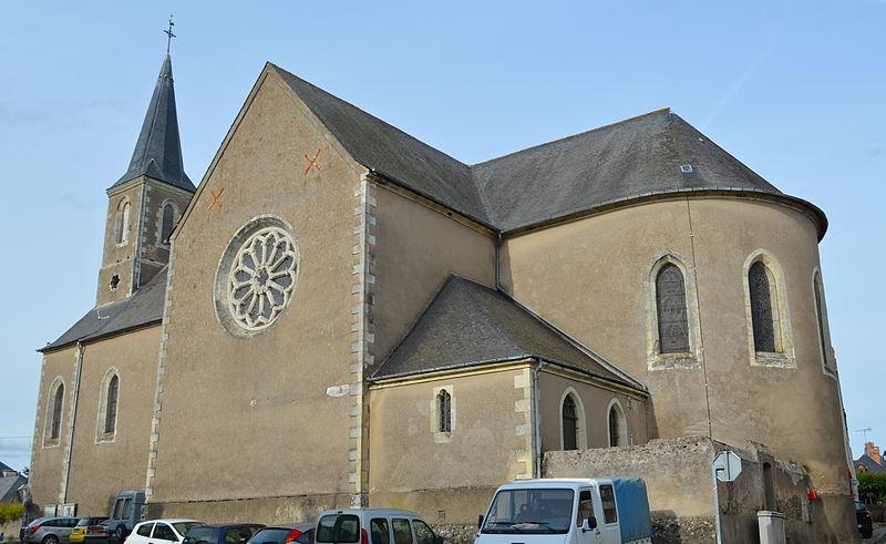Photo du Monument Historique Eglise situé à Beaulieu-sur-Layon