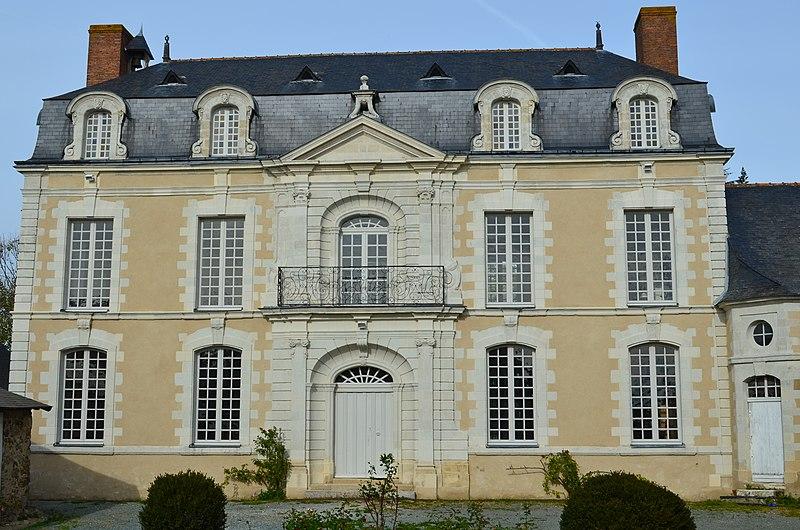 Photo du Monument Historique Hôtel Desmazières situé à Beaulieu-sur-Layon