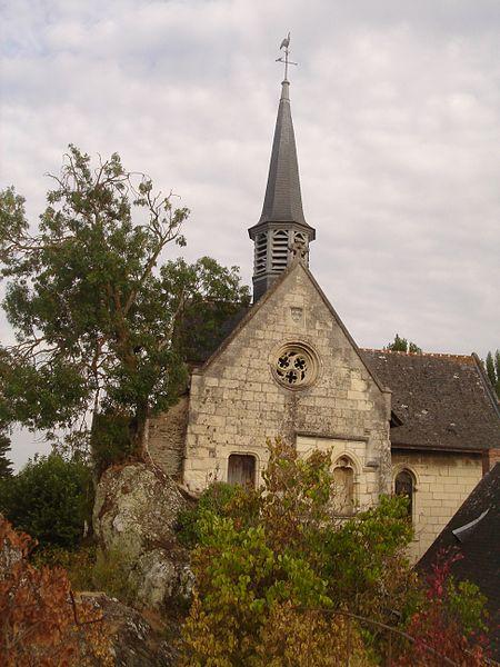 Photo du Monument Historique Eglise situé à Béhuard