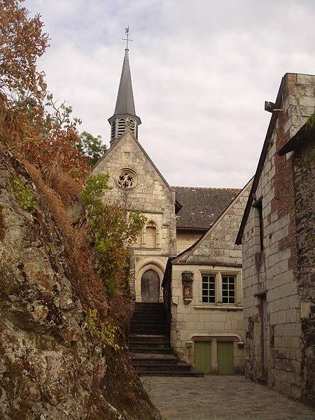 Photo du Monument Historique Deux maisons du 15e et du 18e siècle, à proximité de l'église situé à Béhuard