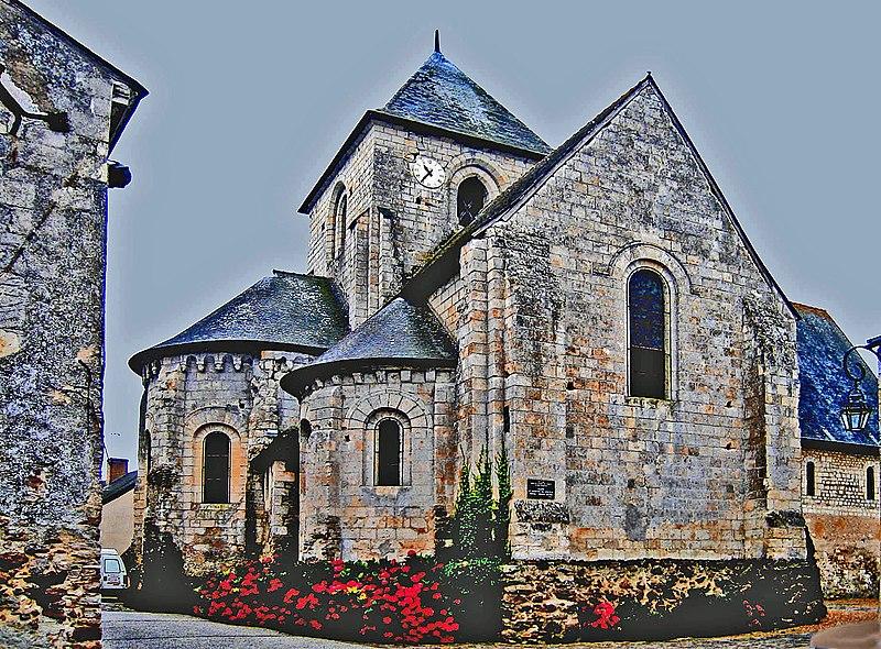 Photo du Monument Historique Eglise situé à Bocé