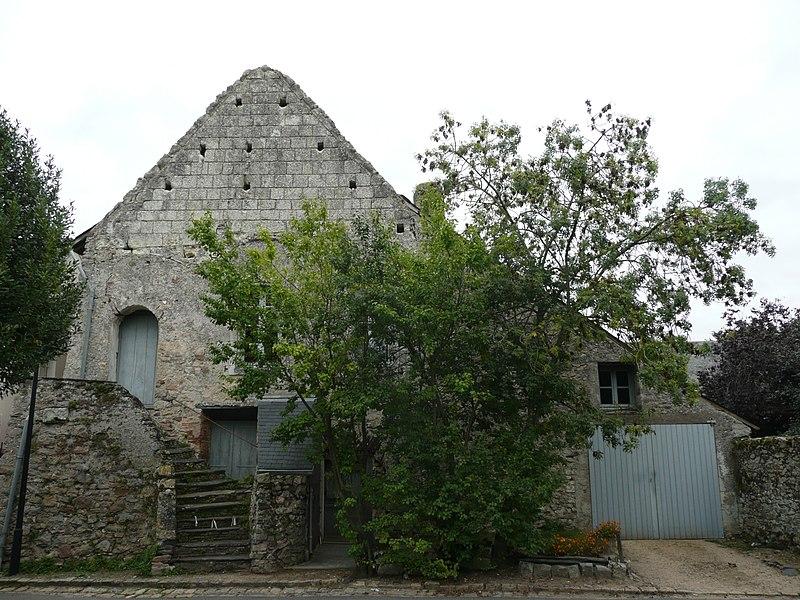 Photo du Monument Historique Ancienne salle seigneuriale dite Le Palais situé à Briollay