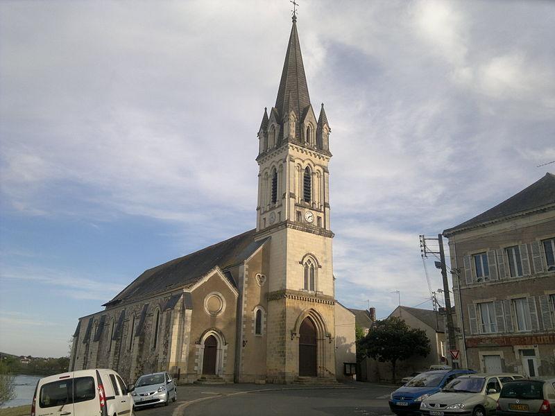 Photo du Monument Historique Eglise Saint-Maurille situé à Chalonnes-sur-Loire