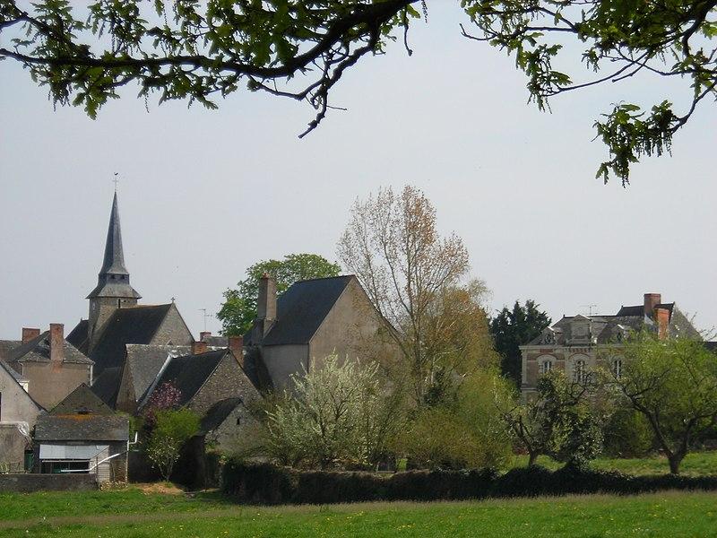 Photo du Monument Historique Eglise situé à Champteussé-sur-Baconne