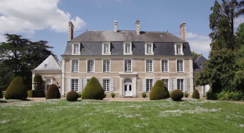 Photo du Monument Historique Château de Beauchesne situé à Champtocé-sur-Loire