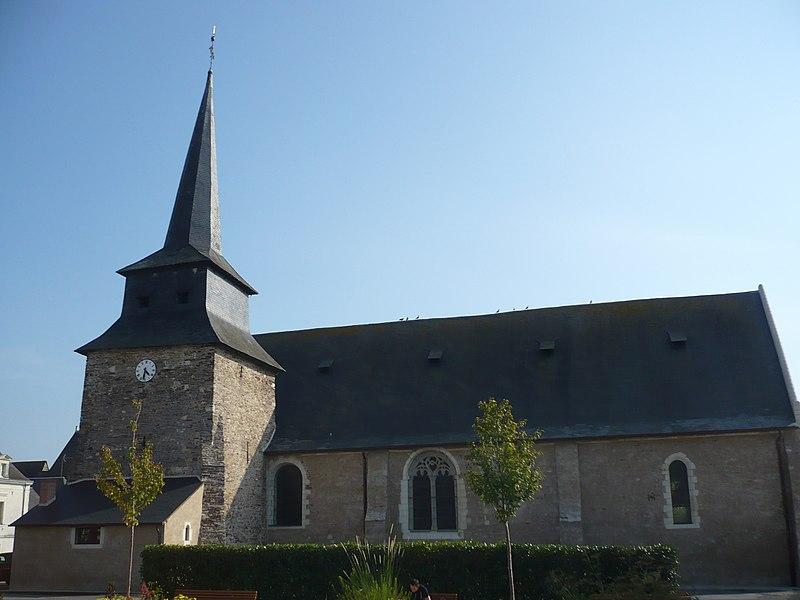 Photo du Monument Historique Eglise situé à Champtocé-sur-Loire