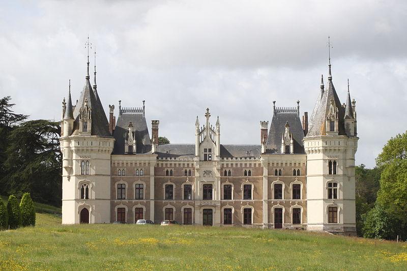 Photo du Monument Historique Château situé à Chanzeaux