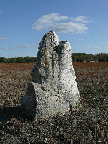 Photo du Monument Historique Cromlech situé à Charcé-Saint-Ellier-sur-Aubance