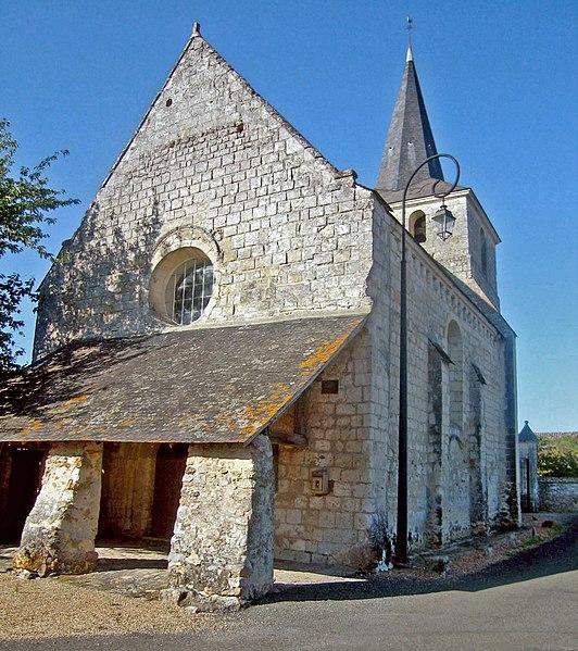 Photo du Monument Historique Eglise situé à Chartrené
