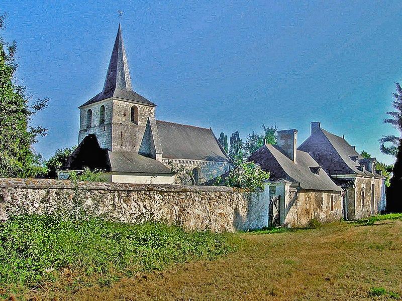 Photo du Monument Historique Presbytère situé à Chartrené