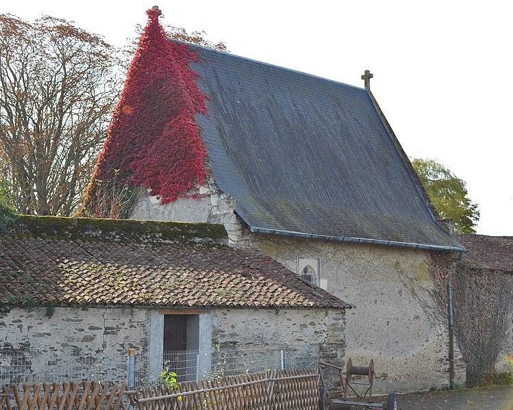 Photo du Monument Historique Château de la Sorinière situé à Chemillé