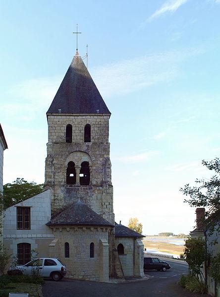 Photo du Monument Historique Eglise des Tuffeaux situé à Chênehutte-Trèves-Cunault