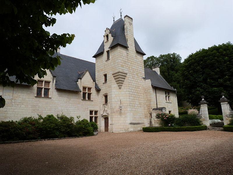 Photo du Monument Historique Manoir de Grissay situé à Chênehutte-Trèves-Cunault