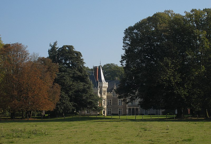 Photo du Monument Historique Château des Rues situé à Chenillé-Changé