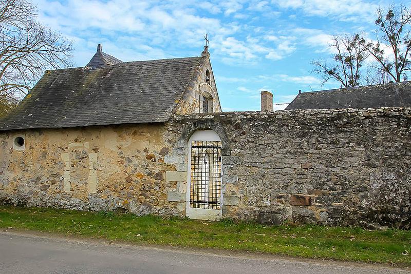 Photo du Monument Historique Prieuré du Gravier situé à Contigné