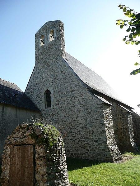Photo du Monument Historique Chapelle Saint-Etienne-de-Doussé situé à Daumeray