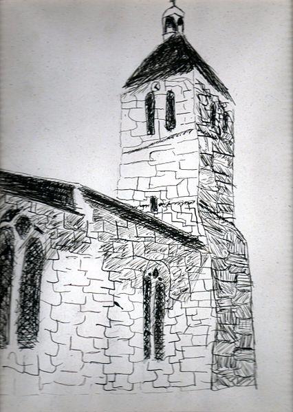 Photo du Monument Historique Eglise situé à Denée
