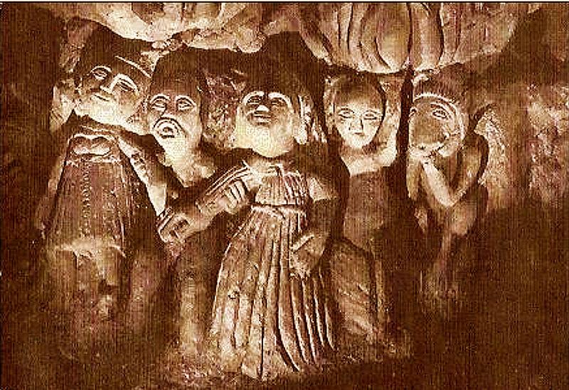 Photo du Monument Historique Caves dites des Mousseaux situé à Dénezé-sous-Doué