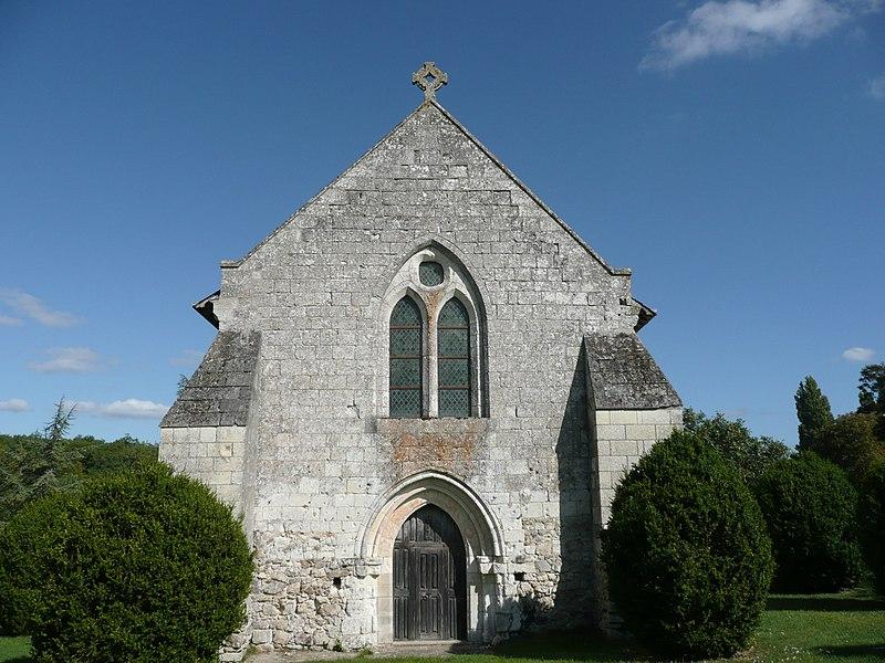 Photo du Monument Historique Abbaye de la Boissière situé à Dénezé-sous-le-Lude