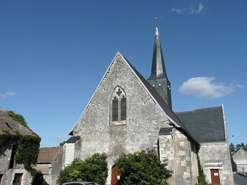 Photo du Monument Historique Eglise situé à Dénezé-sous-le-Lude
