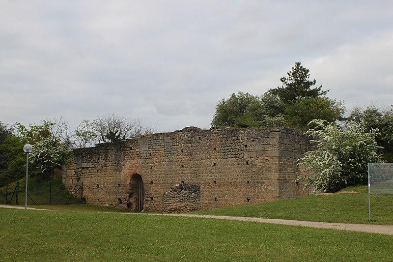 Photo du Monument Historique Motte féodale et donjon (restes) situé à Doué-la-Fontaine