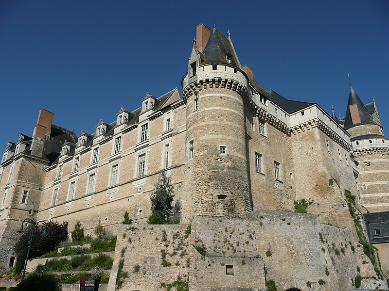 Photo du Monument Historique Château situé à Durtal