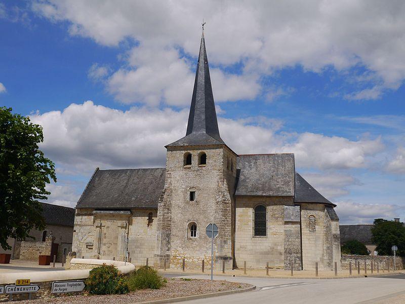 Photo du Monument Historique Eglise situé à Forges