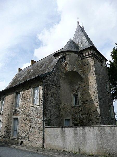 Photo du Monument Historique Manoir de Ghaisne situé à Freigné