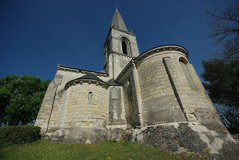 Photo du Monument Historique Eglise Saint-Eusèbe situé à Gennes