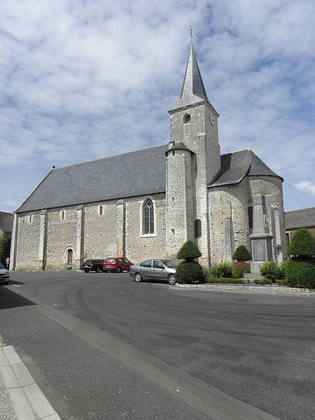 Photo du Monument Historique Eglise Saint-Martin situé à Genneteil