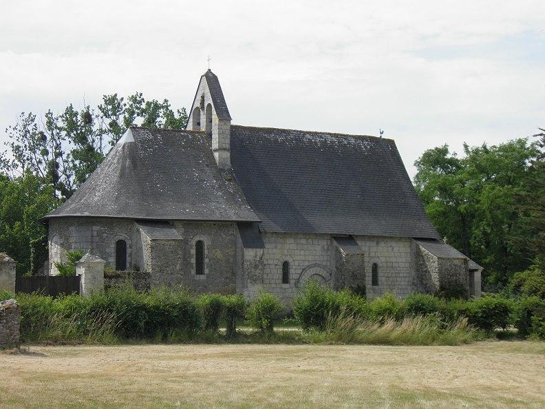 Photo du Monument Historique Eglise situé à La Lande-Chasles