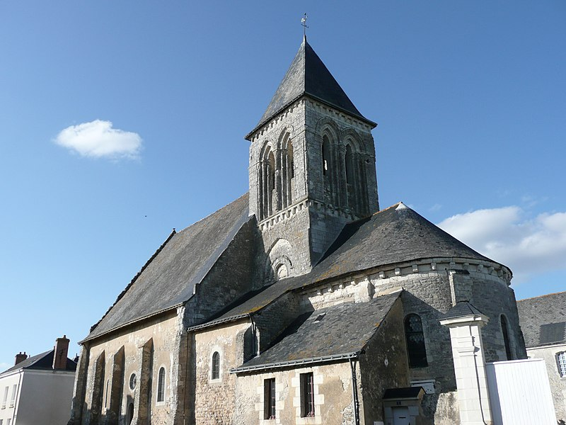 Photo du Monument Historique Eglise et presbytère situé à Lasse