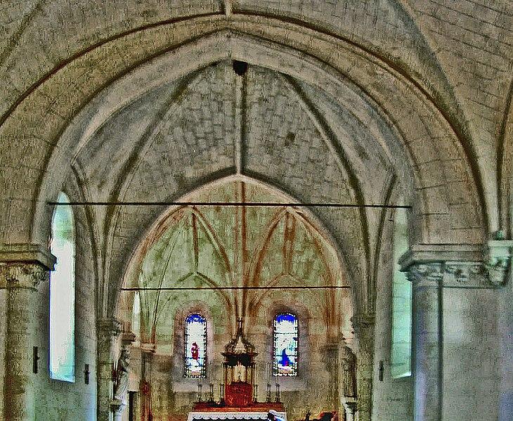 Photo du Monument Historique Eglise situé à Linières-Bouton