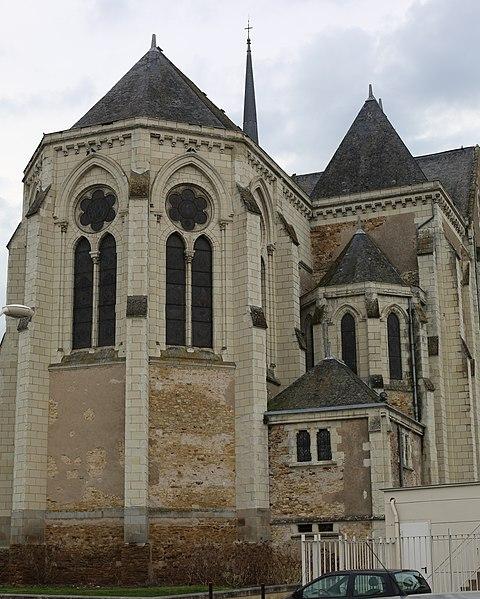 Photo du Monument Historique Eglise Saint-Martin situé à Le Lion-d'Angers
