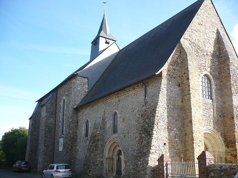 Photo du Monument Historique Prieuré de la Jaillette situé à Louvaines