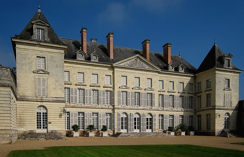 Photo du Monument Historique Château de Montgeoffroy situé à Mazé