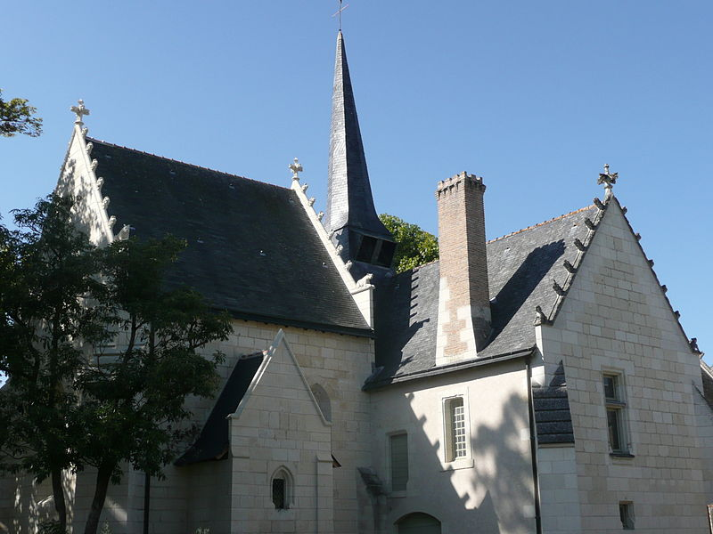 Photo du Monument Historique Hôpital Saint-Jean situé à Montreuil-Bellay