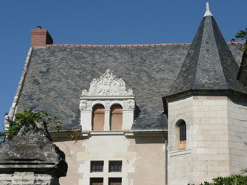 Photo du Monument Historique Hôtel situé à Montreuil-Bellay