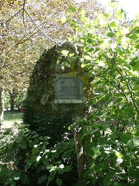 Photo du Monument Historique Menhir de la Pierre de Lenay situé à Montreuil-Bellay