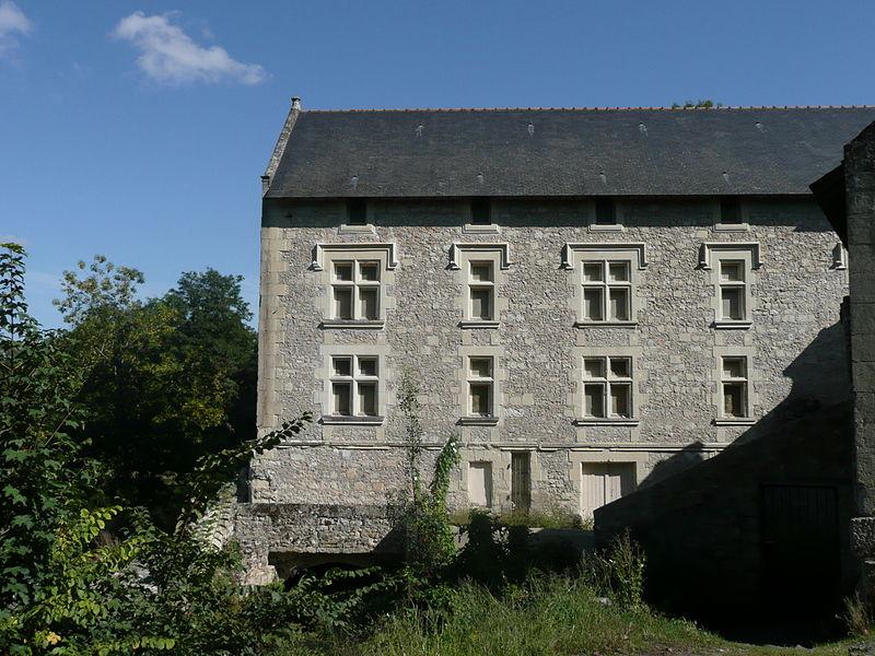 Photo du Monument Historique Moulin du Boëlle situé à Montreuil-Bellay