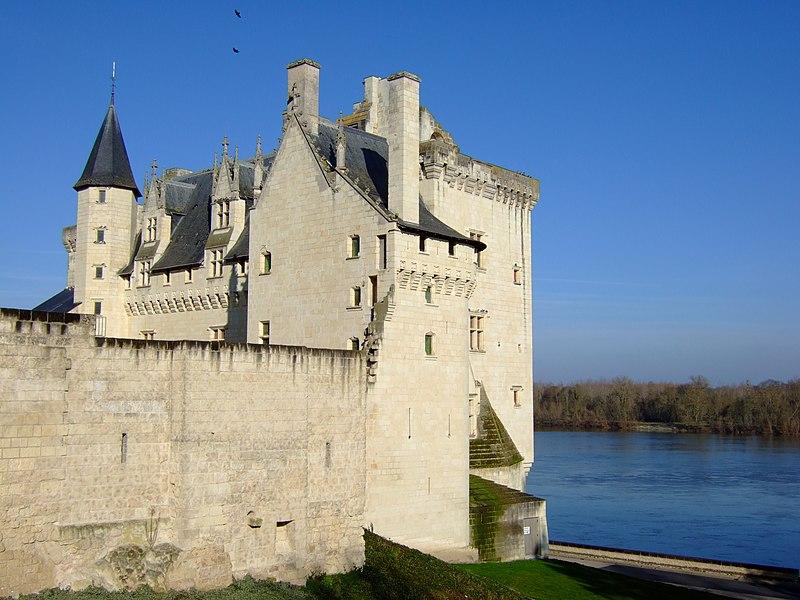 Photo du Monument Historique Château situé à Montsoreau
