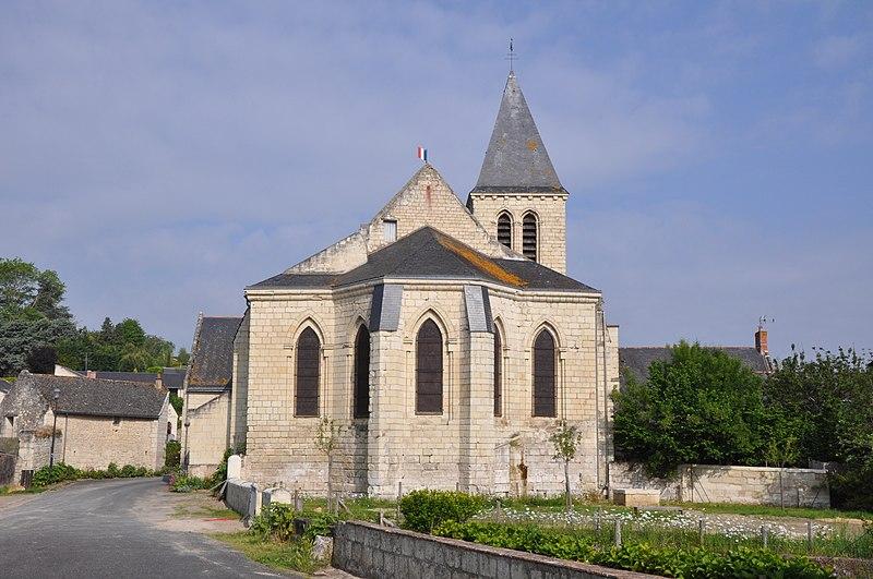 Photo du Monument Historique Eglise Saint-Pierre situé à Montsoreau